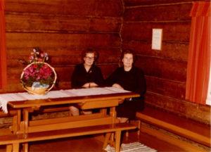 Martta ja Annikki Jussilan tuvassa